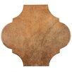"EliteTile Mezcla 10.38"" x 11.38"" Porcelain Field Tile in Provenzal Clay"