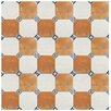 """EliteTile Turia 13.12"""" x 13.12"""" Ceramic Field Tile in Jet Mix"""
