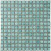"EliteTile Morgan .75"" x .75"" Porcelain Mosaic Tile in Marine"