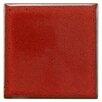 "EliteTile Essentia 4"" x 4"" Porcelain Field Tile in Scarlet"