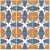 "EliteTile Revive 7.75"" x 7.75"" Ceramic Floor and Wall Tile in Leaf"