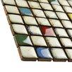 "EliteTile Essentia 0.875"" x 0.875"" Porcelain Mosaic Tile in Cascade"
