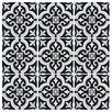 "EliteTile Lima 8"" x 8"" Ceramic Tile in Blue"