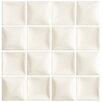 "EliteTile Catarina 7.88"" x 7.88"" Ceramic Wall Tile in Marfil Soft White"