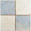 "EliteTile Artisanal 13"" x 13"" Ceramic Field Tile in Damero Azul"