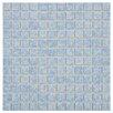 "EliteTile Pool 1"" x 1"" Porcelain Mosaic Tile in Alboran"