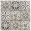 """EliteTile Ardisana 13.13"""" x 13.13"""" Ceramic Field Tile in Jet Mix"""