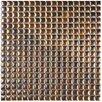 "EliteTile Arcadia 0.563"" x 0.563"" Porcelain Mosaic Tile in Tetsu Ore"