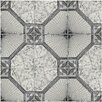 "EliteTile Stellaire 12.5"" X 12.5"" Ceramic Field Tile in Nero"