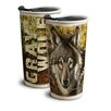 American Expedition Wolf 12 oz. Ceramic Travel Mug