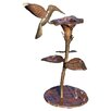 Ancient Graffiti Copper Hummingbird Dripper / Fountain