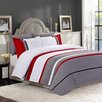 Versailles Home Fashions Gadsby 3 Piece Duvet Cover Set