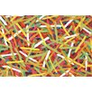 Liora Manne Visions III Pick Up Sticks Jewel Pillow Cover