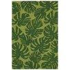 Liora Manne Capri Hand-Tufted Green Indoor/Outdoor Area Rug