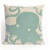 Liora Manne Frontporch Octopus Throw Pillow