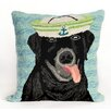 Liora Manne Frontporch Salty Dog Throw Pillow