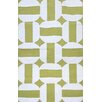 Liora Manne Assisi Green Circles Indoor/Outdoor Area Rug