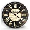 """Zentique Inc. 32"""" Wooden Clock"""
