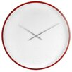 Karlsson 57cm Mr. White Arabic Numeral Wall Clock