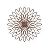 Karlsson Living Oversized 60cm Sunflower Wall Clock