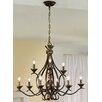Kolarz Buckingham 9 Light Candle-Style Chandelier
