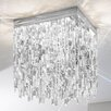 Kolarz Prisma Stretta 8 Light Flush Ceiling Light