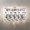 Kolarz Design-Wandleuchte 3-flammig Prisma Stretta