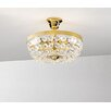 Kolarz Valerie 3 Light Semi-Flush Mount