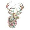 Cardboard Safari Bucky Deer Bust Spring Fling Wall Décor