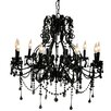 Pangea Home Isabella 10 Light Candle Chandelier