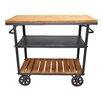 Pangea Home Don Serving Cart