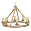 Pangea Home Eleanor 8 Light Candle Chandelier