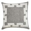 Filling Spaces Applique Throw Pillow