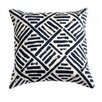 Filling Spaces Down Brush Stroke Throw Pillow