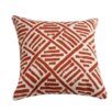 Filling Spaces Linen Throw Pillow
