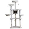"Merax 61"" Cat Tree with Condo and Scratching Post"