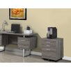Monarch Specialties Inc. 3-Drawer Mobile Lateral File