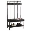 Monarch Specialties Inc. Metal Hall Tree with Bench