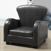 Monarch Specialties Inc. Leather-Look Juvenile Club Chair