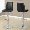 Monarch Specialties Inc. Adjustable Height Swivel Bar Stool (Set of 2)