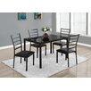 Monarch Specialties Inc. 5 Piece Dining Set (Set of 5)