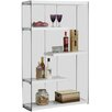 "Monarch Specialties Inc. 60"" Accent Shelves Bookcase"