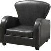 Monarch Specialties Inc. Look Juvenile Kids Faux leather Club Chair
