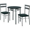 Monarch Specialties Inc. 3 Piece Dining Set III