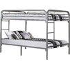 Monarch Specialties Inc. Full over Full Futon Bunk Bed