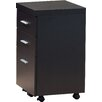 Monarch Specialties Inc. 3-Drawer Hollow-Core Mobile File Cabinet