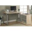 Monarch Specialties Inc. Kelsey L-Shaped Writing Desk