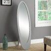 Monarch Specialties Inc. Contemporary Oval Cheval Mirror