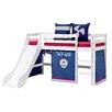 Hoppekids Vorhang in Aeroplane für 160cm x 70cm halbhohes Bett