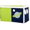 Hoppekids Vorhang in Space für 160cm x 70cm halbhohes Bett